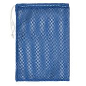 "Royal Blue Drawstring Quick Dry Mesh Equipment Bag -12"" x 18"""