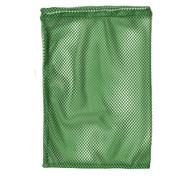"""Green Drawstring Quick Dry Mesh Equipment Bag -12"""" x 18"""""""