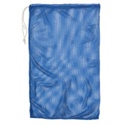 "Royal Blue Drawstring Quick Dry Mesh Equipment Bag - 24"" x 36"""
