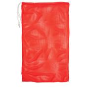 "Orange Drawstring Quick Dry Mesh Equipment Bag - 24"" x 36"""