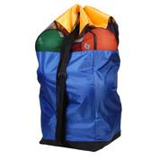 Multi-Purpose Breathable Duffle Bag with Shoulder Strap - 10 Basketballs or 20 Footballs
