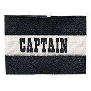 Black Adult Soccer Captain Arm Band