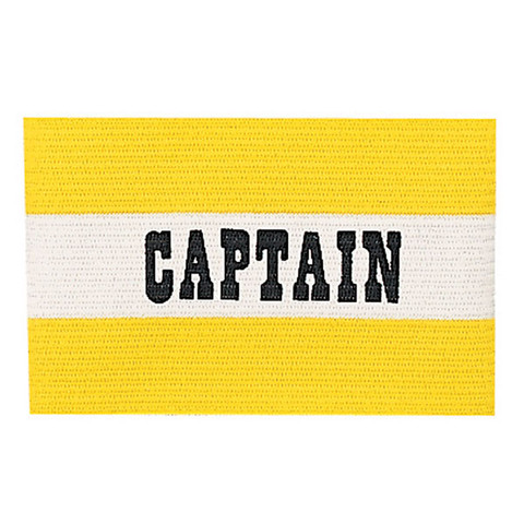 Yellow Adult Soccer Captain Arm Band