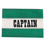 Green Youth Soccer Captain Arm Band