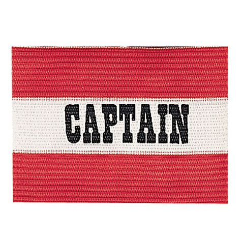 Red Youth Soccer Captain Arm Band