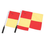 Official Soccer Officials Checkered Flags