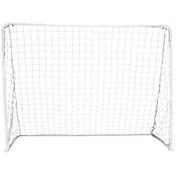 Easy Fold Portable Steel Soccer Goal - 8-Foot