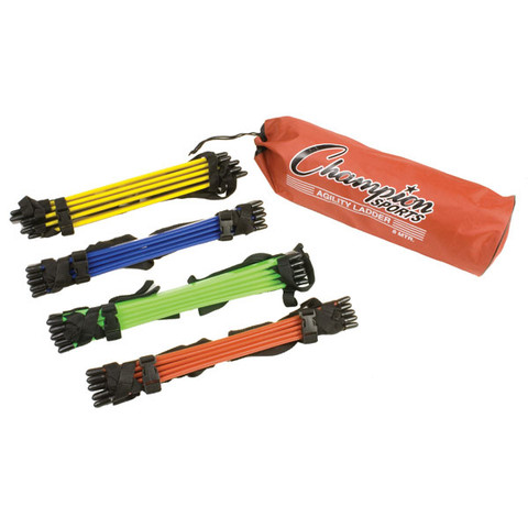 Sectioned Multicolor Agility Athletic Drill Ladder Set