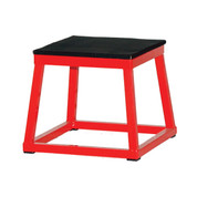 Plyometric Exercise Steel Training Box, 15-Inch Base