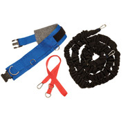 All-Purpose Reaction Time, Strength, Agility Resistance Belt Set