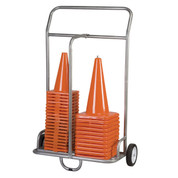 Large Steel Sports Cone Transport Cart