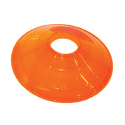 "Champion Sports 12"" Large Orange Disc Sports Cone"