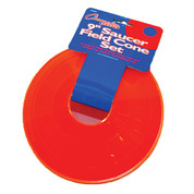 Champion Sports Saucer Field Set of 4 Cone Set - Orange