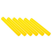 Yellow Plastic Track Relay Batons Set of 6