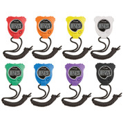 Economy Multicolor Sports Stop Watch Set