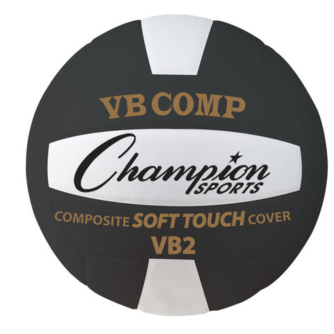 VB Pro Comp Series USAV Approved Volleyball, Black and White