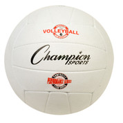 Performance Series Pro Rubber Volleyball, Blue, White, Yellow