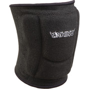 Black Low Profile Slim Fit Small Volleyball Knee Pads