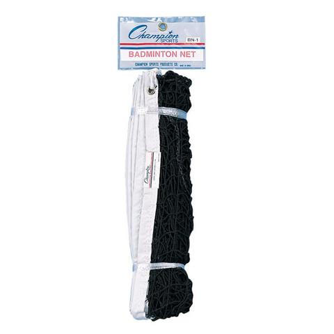 21ft Nylon Recreational Badminton Net, Coated Steel Cable