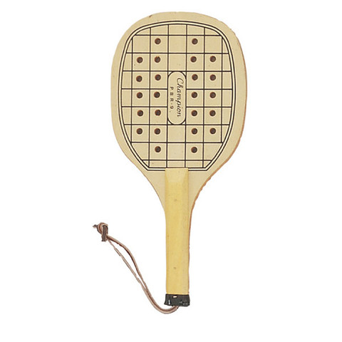 Competition Paddleball Racket with Wrist Strap