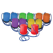 Plastic Multicolor Platform Stilt Play Set