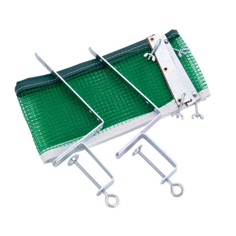 Recreational Table Tennis Net & Post Set 1-Inch Metal Spikes
