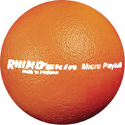 Orange Rhino Skin Soft Foam Multipurpose Game Ball