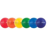 Rhino Skin Low Bounce Soft Foam Dodgeball Set - Multicolor, 7in