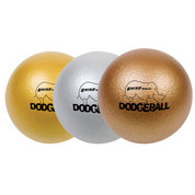 Rhino Skin Metallic Dodgeball Set Gold, Silver, Bronze