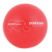 Neon Red Rhino Skin Low Bounce Dodgeball