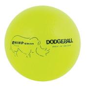 Neon Yellow Rhino Skin Low Bounce Dodgeball