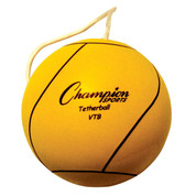 Optic Yellow Official Size Rubber Tether Ball