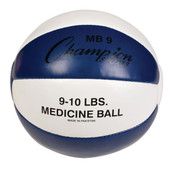 Heavy Duty Durable Leather Cross Training Medicine Ball 9-10lb