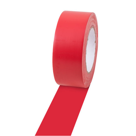 Red Gym Floor Marking Tape Two-Inch Wide by 36 Yards Long
