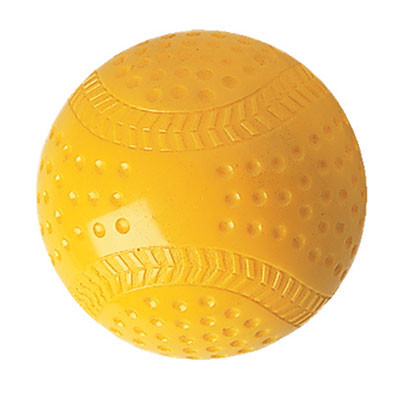 Seamed Yellow Pitching Machine Baseball Sold per Dozen