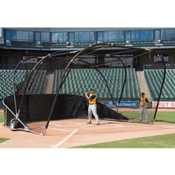 Portable Collapsing Batting Cage - BIG BUBBA Elite