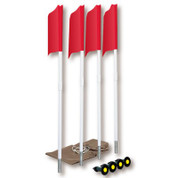 Soccer Spring Loaded Flag Set w/ Storage Bag (6 Flags)