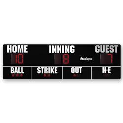Softball and Baseball Scoreboard 16' x 5'