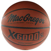 Men's MacGregor X6000SL Official Indoor Outdoor Synthetic Leather Basketball