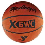 Men's MacGregor X6WC YMCA Logo Rubber Basketball