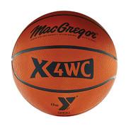 Junior MacGregor X6WC YMCA Logo Rubber Basketball