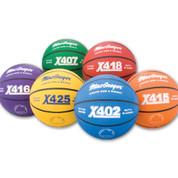 Blue MacGregor Durable Rubber Indoor and Outdoor Basketball - Junior Size
