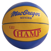 MacGregor Recruit 22 Inch Mini Size Rubber Basketball for Indoor and Outdoor