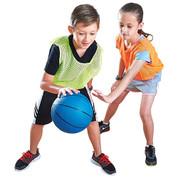 Red MacGregor Durable Rubber Indoor and Outdoor Basketball - Women's Size