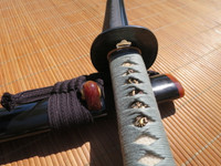 Ronin Elite Katana #295- Japanese Fittings and Silk