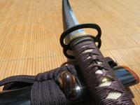 Ronin Elite Katana #296- Japanese Fittings and Silk