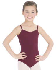 CC102C - Capezio Child V Neck Camisole Leotard