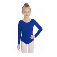 TB134C - Child Nylon Long Sleeve Leotard