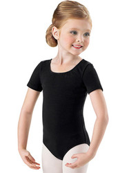 CL5402 - Bloch Girls Short Sleeve Leotard