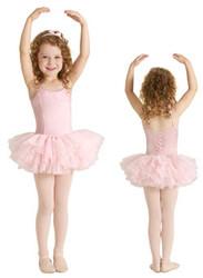 M222C - Girls Camisole Tutu Dress